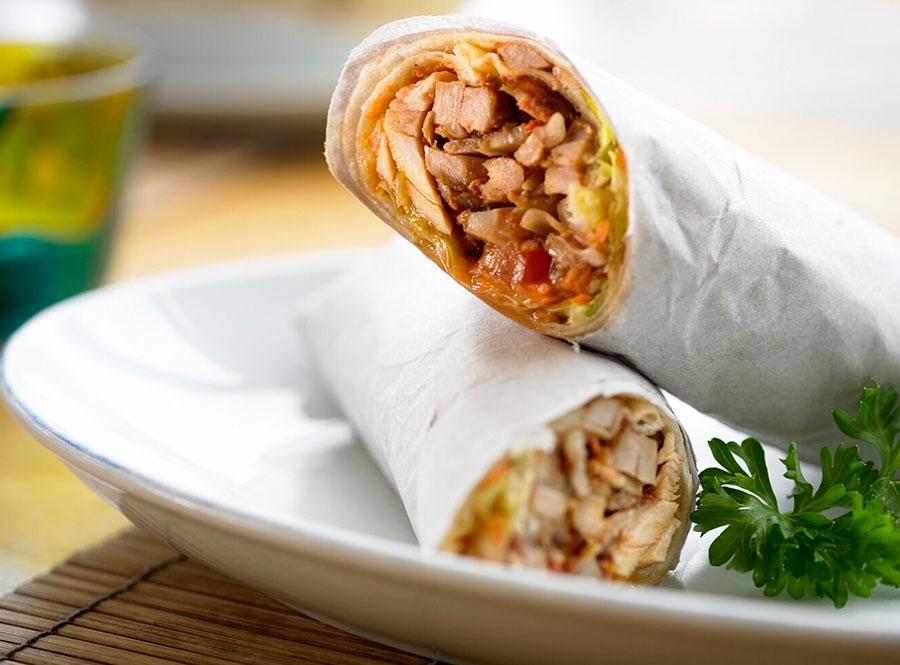 doner kebab roll